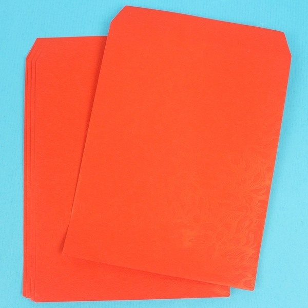 樂透彩券紅包袋 港式鳳尾紋香水紅包袋/一件10大包入(一大包500張)共5000張入(定25) -冠1190400