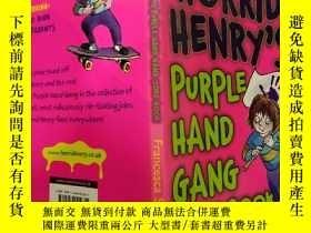 二手書博民逛書店HORRID罕見HENRY S PURPLE HAND GANG JOKE BOOK:可怕的亨利的紫色手幫派笑話書