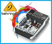 【小麥老師樂器館】Behringer 耳朵牌 5軌 錄音介面 混音器 錄音軌 XENYX Q502 USB MIXER