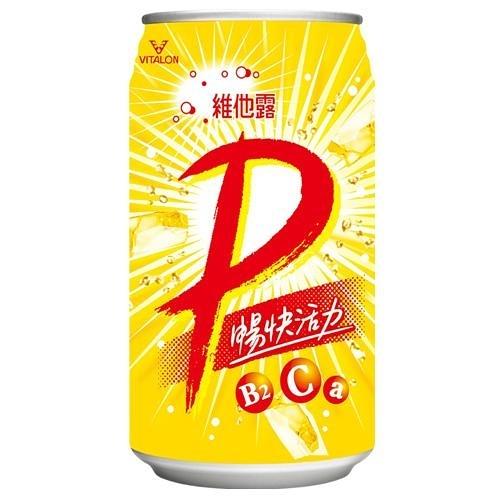 維他露P健康微泡飲料330ml*6入【愛買】