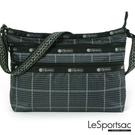 LeSportsac - Standard橫式三層拉鍊斜背包(冬季格紋) 3352P F520