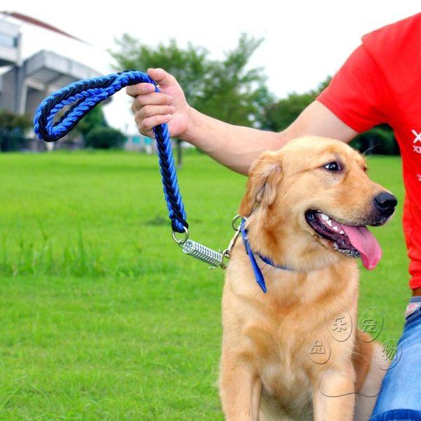中型大型犬寵物牽引繩帶 大狗狗金毛遛狗繩子狗錬子用品  莉卡嚴選