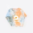親子裝 小雛菊親子裝t恤短袖母女裝2021新款潮母子裝一家三口夏季親子t恤