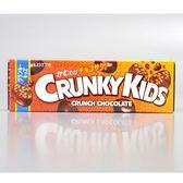 【LOTTE】Grunky脆米果巧克力隨手條 33g(賞味期限:2019.06)