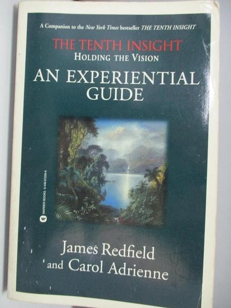 【書寶二手書T1/原文書_DKK】The Tenth Insight: Holding the Vision : An Experiential..