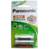 國際牌Panasonic EVOLTA 4號800mAh低自放鎳氫充電池 2入