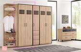 雷納爾2.7尺衣櫥(雙吊) 大特價 10700元【阿玉的家 2020】新品搶先 大台北免運費