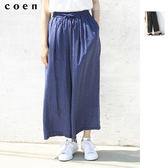 點點 寬褲 復古風 緞面 圓點衣服 約會 日本品牌【coen】