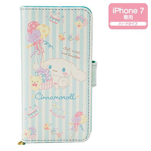 【震撼精品百貨】大耳狗 Cinnamoroll~大耳狗喜拿 iPhone7 PU皮革折式保護套(歡樂派對)
