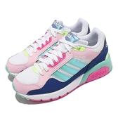 adidas 休閒鞋 Run9tis 藍 粉紅 愛迪達 Neo 女鞋 復古慢跑鞋 運動鞋 【ACS】 GY0671