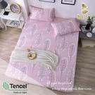 【BEST寢飾】天絲床包三件組 特大6x7尺 昕悅-粉 100%頂級天絲 萊賽爾 附正天絲吊牌 床單