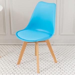【家具+】Hildr 北歐系列皮革設計休閒椅/餐椅/戶外椅(4色任選)黑色