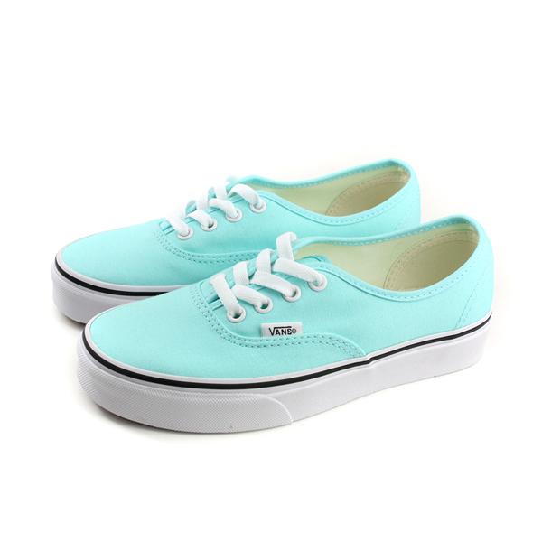 VANS Authentic 休閒布鞋 水藍色 女鞋 181010155 no495