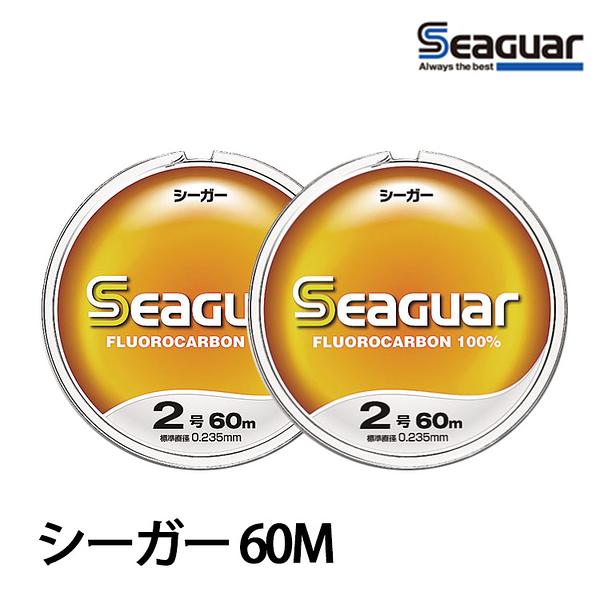 漁拓釣具 SEAGUAR シ-ガ 60M #24 [碳纖線]