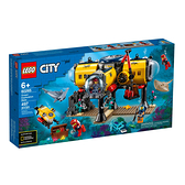 60265【LEGO 樂高積木】城市系列 City- 海洋探索基地 (497pcs)