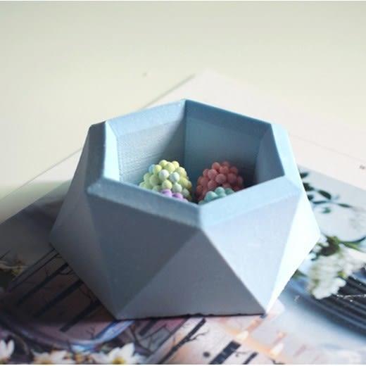 CARMO六角幾何造型水泥矽膠模具 石膏模具【CI05001】