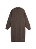 2019秋季新款慵懶風氣質時尚毛衣寬松羊絨針織開衫中長款外套女士