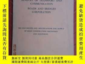 二手書博民逛書店MINISTRY罕見OF TRANSPORT AND COMMUNICATION ROADS AND BRIDGE
