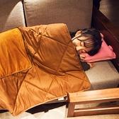 哈士奇折疊汽車抱枕被子兩用車內午睡小被子辦公室可愛靠枕冬季 傑克型男館