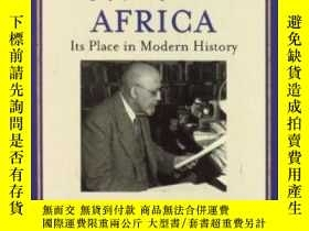 二手書博民逛書店Africa,罕見Its Geography, People A