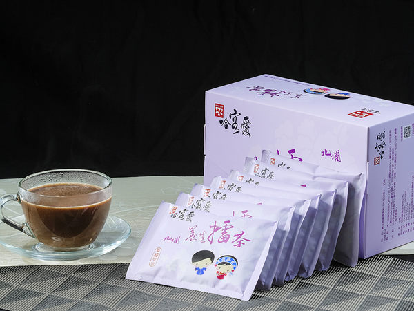 【哈客愛】養生擂茶隨身包--幸福可可擂茶 16入/盒(北埔客家擂茶 高纖 低糖 低熱量 即溶好沖泡)