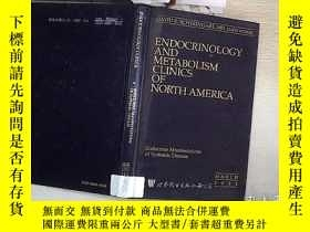 二手書博民逛書店ENDOCRINOLOGY罕見AND METABOLISM CLINICS OF NORTH AMERICA:En