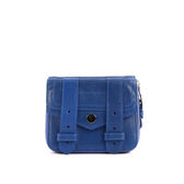 【NG品】【PROENZA SCHOULER】小羊皮 短夾 (電子藍 ) S00001 L001U 5026