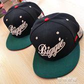 美國潮牌BIGGIE棒球帽SNAPBACK bboy帽子嘻哈hiphop街舞平沿帽子 流行花園