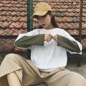 長袖t恤韓版寬松上衣-艾尚精品 艾尚精品