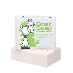 GOAT SOAP 澳洲天然手工羊奶皂(青檸香桃木)