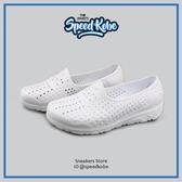 PONY 童鞋 Tropic 水鞋 拖鞋 海灘鞋 防水 洞洞鞋 懶人鞋 全白 白鞋 62K1SA61SW【Speedkobe】