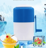 刨冰機家用小型碎冰機手動兒童手搖綿綿冰粉迷你打冰機雪花沙冰機 FF1283【男人與流行】