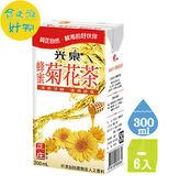 ●光泉正庄蜂蜜菊花茶-鋁箔包300ml(6入/組)【合迷雅好物超級商城】