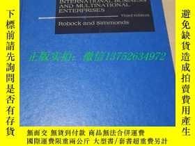 二手書博民逛書店international罕見business and multinational enterprises國際貿易