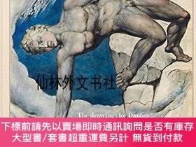 二手書博民逛書店【罕見】William Blake:The drawings for Dante s Divine Comedy奇