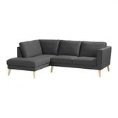 【歐雅居家】 卡爾轉角布沙發-L型面左-灰 / 沙發 / 布沙發 /三人沙發 / 12層內材