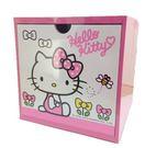 【震撼精品百貨】Hello Kitty 凱蒂貓~單抽收納盒~粉紅【共1款】
