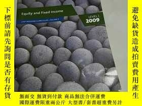 二手書博民逛書店Equity罕見and Fixed Income LEVEL I
