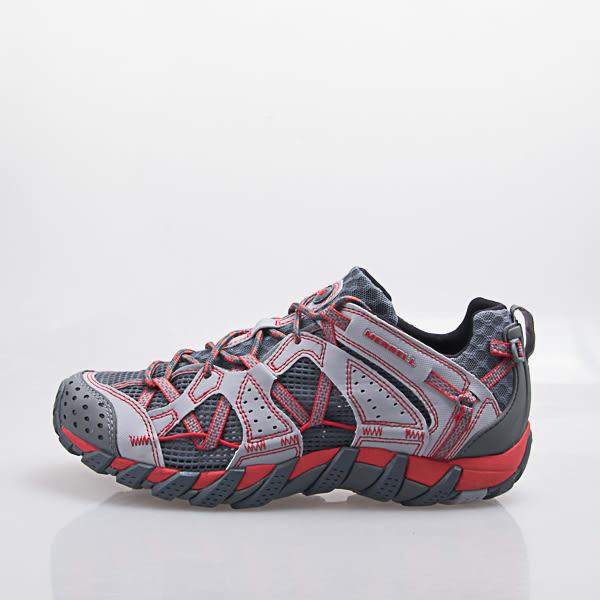 MERRELL  WATERPRO MAIPO 水陸兩用鞋-淺灰/紅 中大尺碼 ML02341