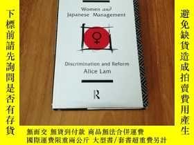 二手書博民逛書店WOMEN罕見AND JAPANESE MANAGEMENT:D