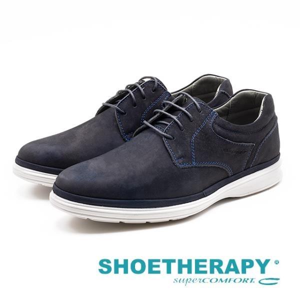【南紡購物中心】SAPATOTERAPIA 巴西男士 率性透氣休閒鞋 - 深藍(另有卡其)
