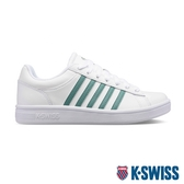 【超取】K-SWISS Court Winston時尚運動鞋-女-白/綠