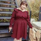 經典簡約條紋洋裝,人人都能駕馭可調式的細肩帶,讓方便性提升