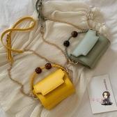 手提包 洋氣質感斜背ins包包女新款潮韓版單肩時尚小包包手提包包女 8色 交換禮物