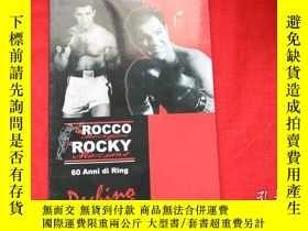 二手書博民逛書店DA罕見ROCCO ROCKY 60 ANNI DI RING.