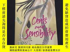 二手書博民逛書店英文原版罕見Cents and SensibilityY1215
