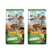 Friskies 喜躍特選營養室內貓配方貓乾糧-2.8kgX2包