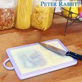 【クロワッサン科羅沙】Peter Rabbit~ 經典比得兔角型抗菌砧板(L)紫NF-212055