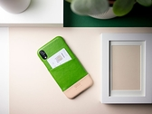 Alto iPhone XR 真皮手機殼背蓋 6.1吋 Metro - 萊姆綠/本色 【可加購客製雷雕】皮革保護套
