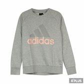Adidas 女 ESS LIN SWEAT 愛迪達 圓領T(長)- CZ5722